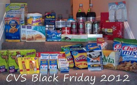 CVS Black Friday 2012