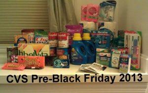 CVS Pre-Black Friday 2013