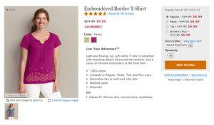 $1.71 for an Eddie Bauer Shirt Originally Priced at $25