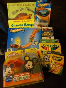 Donation from the Gift Closet Inventory