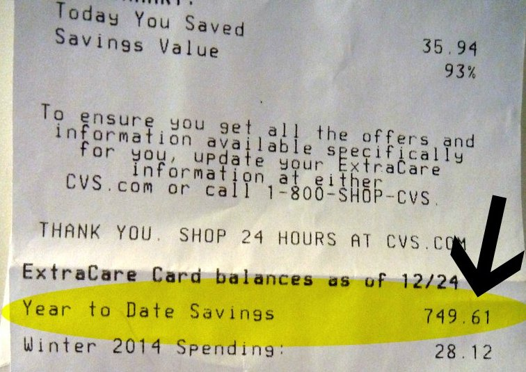2013 CVS Savings