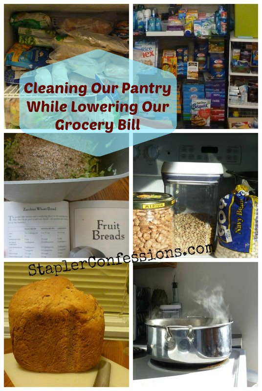 Cleaning Our Pantry While Lowering Our Grocery Bill