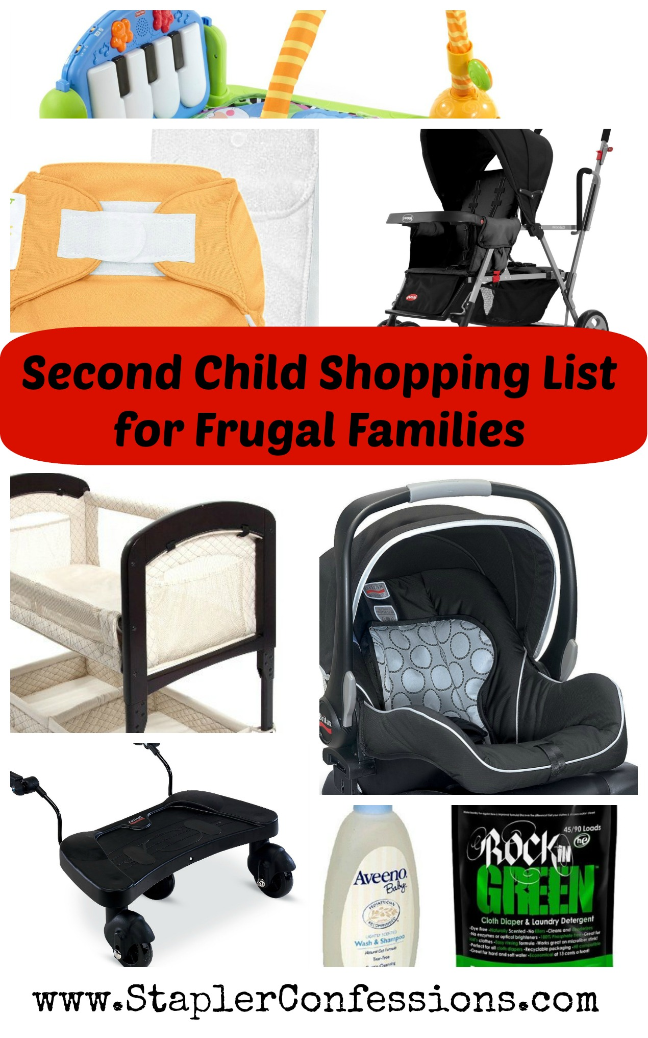 second child shopping list for frugal families stapler confessions
