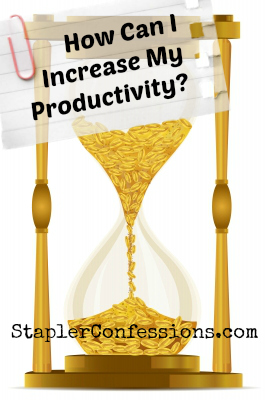 What is getting in the way of your productivity?
