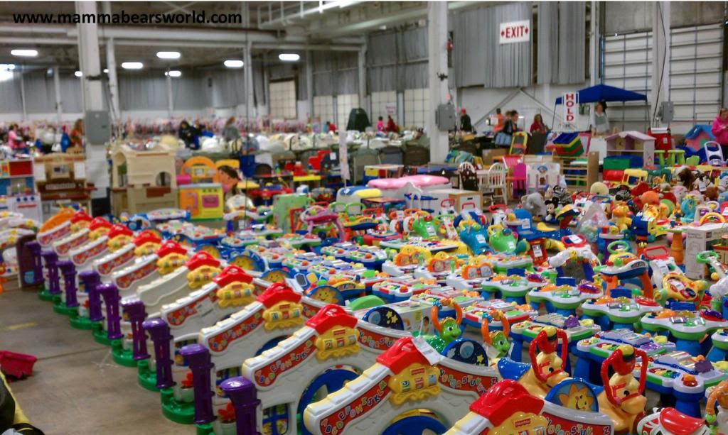 Get some of the most popular baby toys for 70% off at a local consignment sale.