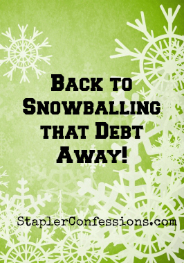 How the Debt Snowball can be Addictive
