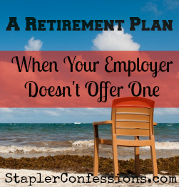 No retirement plan at work? Here are some options to set one up on your own.