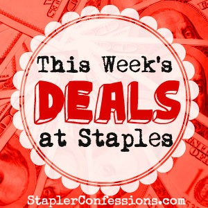 Check out This Week's Deals at Staples at StaplerConfessions.com. Direct link to this week's deals here: http://ow.ly/C2gq3