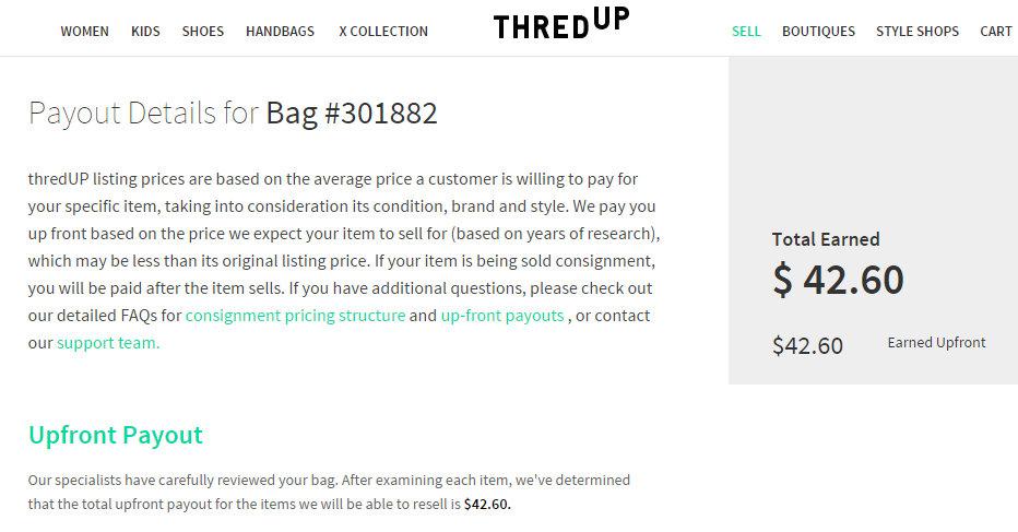 ThredUp Offer