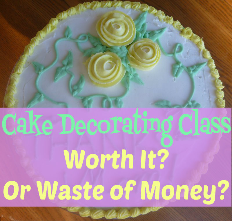 Wondering whether the Wilton cake decorating classes at Michael's are worth the money? Take a look at what I can create after spending just $100 on the class and materials.