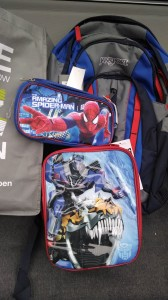 My son is going to love this backpack, lunchbox, and pencil case for his first day of kindergarten next year. I'm so glad I got it for half off, plus 20% off of that -- making this $80 Jansport backpack only $32.