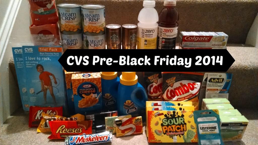 CVS Pre-Black Friday 2014