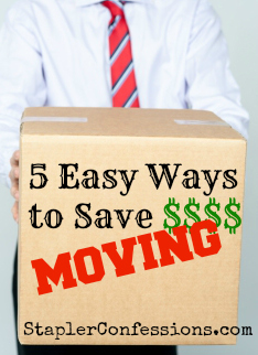 5 Easy Ways to Save Money Moving