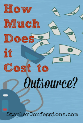 How much does it cost to outsource
