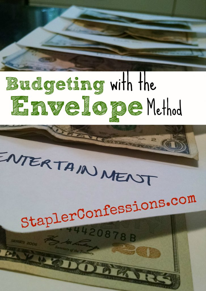 Budgeting with the Envelope Method