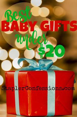 Best Baby Gifts Under $20