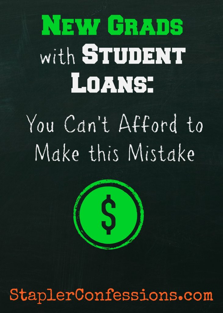 New Grads with Student Loans