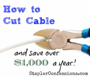 Save over $1,000 a year by cutting the cable cord -- here's how! Plus, my take on Netflix, Hulu Plus, Amazon Prime, and streaming Redbox