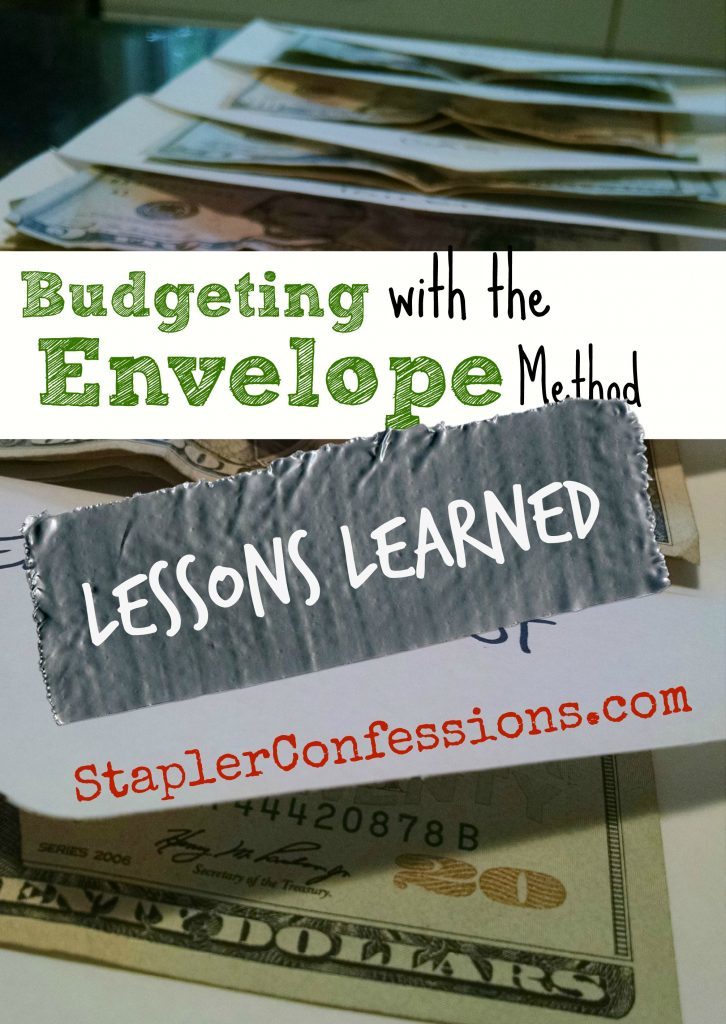 I tried to pay all of our expenses with cold hard cash and this is what I learned about budgeting using the envelope method.
