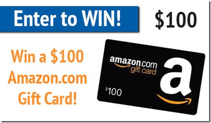 Five minutes of your time to win a $100 Amazon gift card!
