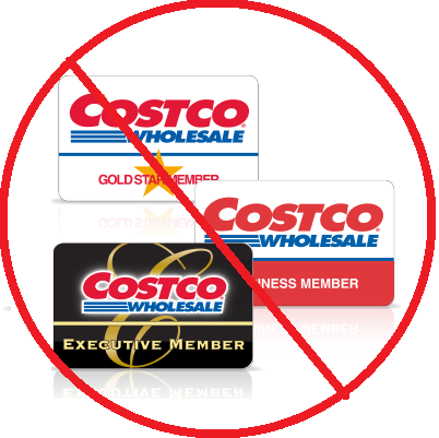 It's not impossible to shop at Costco without a membership.