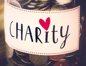 bethankful and donate to charity