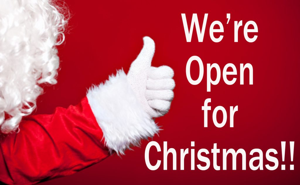 Open on Christmas. Do you know which stores and restaurants are open on Christmas?