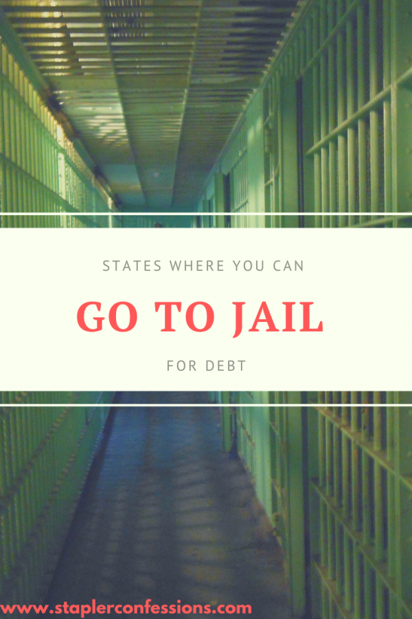 States Where You Can Go To Jail For Debt
