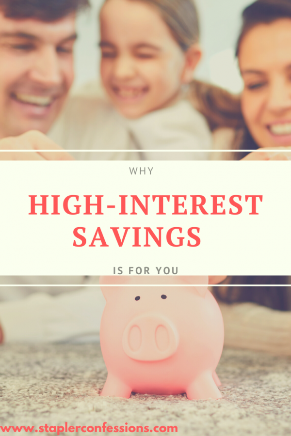 Why High-Interest Savings is for You