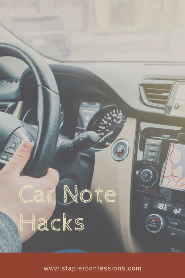 Car Note Hacks
