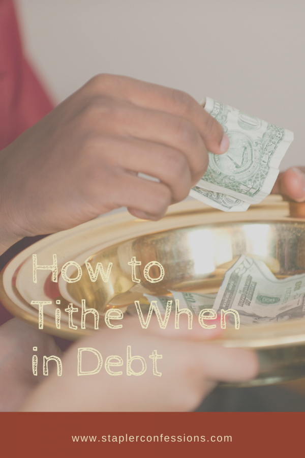 How to Tithe When in Debt